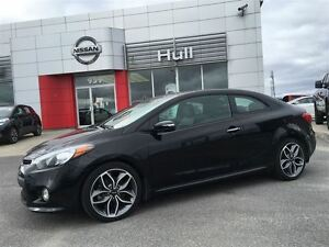 2014 Kia Forte Koup SX luxury Package leather