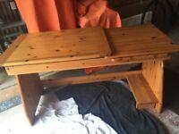 Stompa Solid Pine Desk