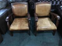 Stunning pair of reading chairs