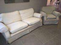 Laura Ashley Sofa and armchair