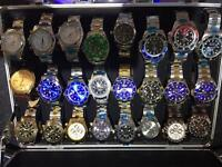 Rolex not breitling omega AUTOMATICS CAN DELIVER LOCAL OR POST