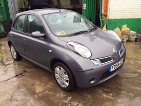 2009 NISSAN MICRA ACENTA 1.4 AUTOMATIC 28200 GENUINE MILES. FINANCE : £500 DEPOSIT £90 X 48 MONTHS