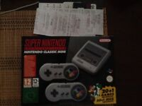 New SNES classic mini to sell