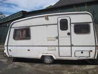 Cheap 2 berth caravan for sale (1988)