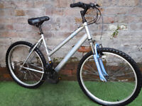 "Apollo XC.26, 18 gears, front suspension, 20"" frame, 26"" wheels. Good condition"