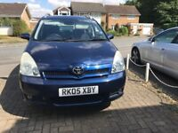 TOYOTA VERSO SEMI AUTOMATIC 7 SEATER WITH SATAV,FRONT AND REAR CAMERA