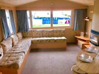 Cheap 8 berth caravan for sale in Northumberland near Whitley Bay, NE63 9YD