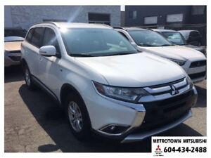 2016 Mitsubishi Outlander SE 4WD; Certified Pre-owned!