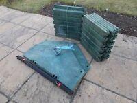 Garden waste composting Bin. 90cm diameter * 100cm high.