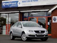 VOLKSWAGEN PASSAT 1.9 HIGHLINE TDI 4d 103 BHP * Leather + Cruise + H (silver) 2008