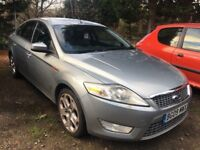2009 FORD MONDEO 2.0 TDCI 140 TITANIUM X, DIESEL, 6 SPEED MANUAL, SPARE OR REPAIRS, NON RUNNER !!