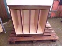 Slatted Storage Unit Delivery Available