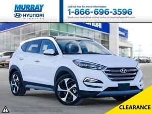 2017 Hyundai Tucson Limited with Bluetooth and Heated Steering W