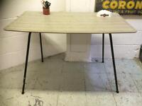 1950s FORMICA TABLE VERY UNUSUAL STYLE