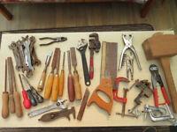 Assortment of handtools