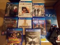 PS4 Playstation 4 + games
