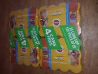 48 pedigree cans of dog food