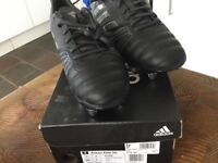 Adidas size 7 rugby boots makati elite sg as new in box paid £79.99