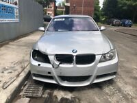 BMW 3 Series E90 330d, M57D30 Engine, GA6HP26Z Gearbox, 2.81 Rear Diff,354 Silver-BREAKING FOR PARTS