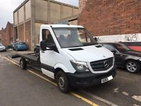MERCEDES SPRINTER 313 CDI LWB RECOVERY TRUCK FACELIFT LOW MILEAGE