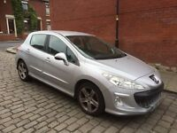 2008 PEUGEOT 308 STARTS AND DRIVES SPARES OR REPAIR