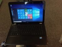 laptop hp dv6 intel core i5 15.6 inch wide win 10 500g hard drive and radeon graphics ms office bl