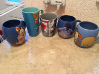 Official Disney / Marvel mugs. £3 each or all 5 for £12