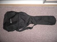 Acoustic Guitar Carry Case with Handle & Straps