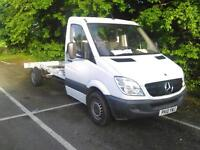 2010 Mercedes 313 cdi manual recovery truck only 124k