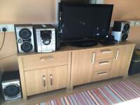 Sony HiFi System With Sub and Remote