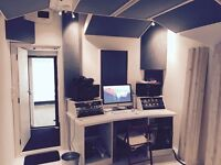 New Build Recording Studio / Music Production / Mixing In London Fields. Studio share available!