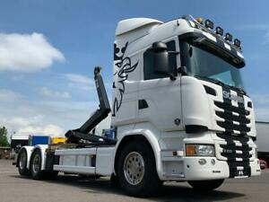 Scania R410 HIAB ACC Retarder Lenk/Liftachse TOP!!!