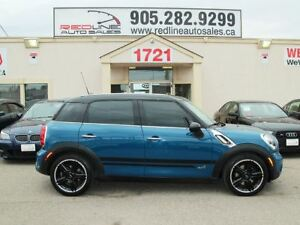 2011 MINI Cooper S Countryman ALL4, AWD, Leather, WE APPROVE ALL