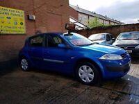 2005 55 Renault Megane Oasis 1.6 - 12 Months Mot - 3 Months Warranty