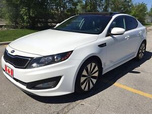 2013 Kia Optima SX | pano roof | cooled seats | navi | rev camer