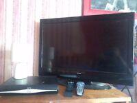 "Alba 32"" lcd tv + sky + hd box"