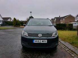 62 Plate. VW Touran. 1.6 Diesel. Automatic. New shape. ( 7 Seater ) top condition