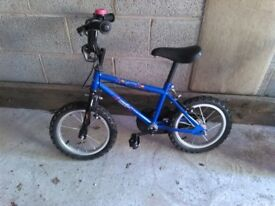 Boy's 14 inch bicycle