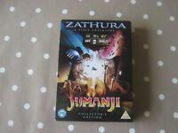Zathura & Jumanji DVDs