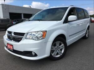 2016 Dodge Grand Caravan Crew | Stow and Go | Power Seat | Clima