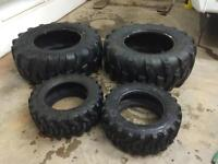 Tires for Compact tractor SOLD