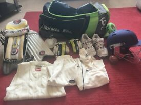 junior cricket equipment