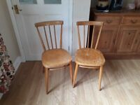 wooden chairs dining / kitchen / bedroom