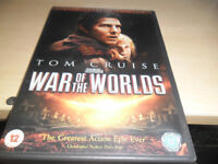 TOM CRUISE WAR OF THE WORLDS REGION 2 DVD