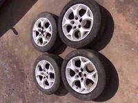 Vauxhall Astra Snowflake 16'' Alloy Wheels Can Post Can Part Ex