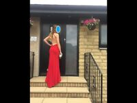 Stunning Gino Cerruti Red Prom/Evening/Gala Dress. Size small. As new - Worn once. Style 2898C