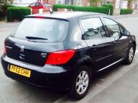 Peugeot 307 Black 2.0 HDi 90 **BREAKING FOR PARTS** call us on 07398715999 for more info