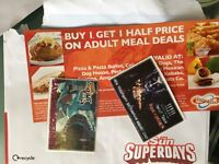Thorpe park tickets - valid on Friday 25th August, 2017