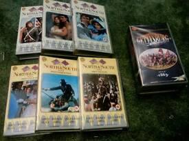 American civil war tv series (VHS )