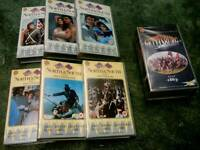 American civil war tv series (VHS )